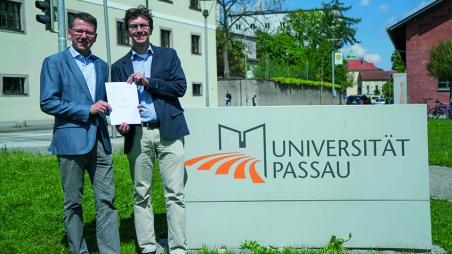 Neues Doppelmasterprogramm mit der Universität Passau