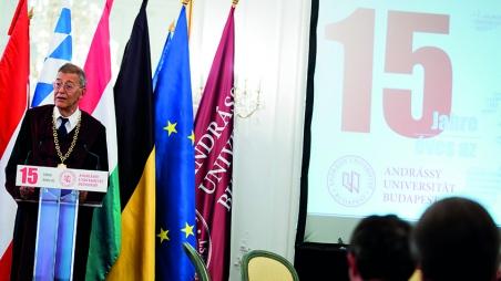 15 Jahre Andrássy Universität Budapest