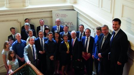 Delegation der baden-württembergischen CDU-Landtagsfraktion zu Gast an der Andrássy Universität Budapest