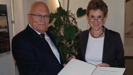 Bundesverdienstkreuz für Péter Balázs