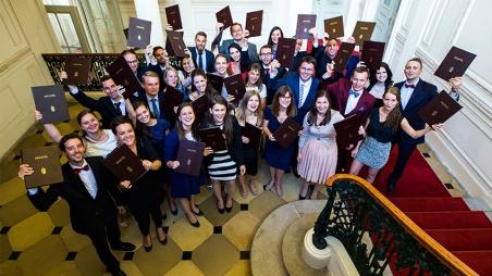 Feierliche Eröffnung des Studienjahres 2017/2018 und Diplomübergabe
