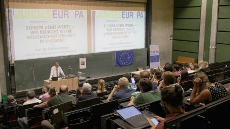 Europa deine Werte – wie bedroht ist die Wissenschaftsfreiheit in Ungarn?