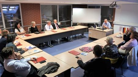 Delegationsbesuch der Deutsch-Ungarischen Gesellschaft