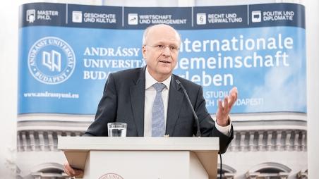 Vortrag von Dr. Koen Lenaerts, Präsident des Gerichtshofes der Europäischen Union
