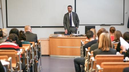 Vortrag von Attila Steiner, stellvertretender Staatssekretär Ungarns für EU-Angelegenheiten
