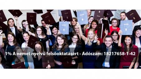 Támogasd 1%-oddal az Andrássy Egyetemet - Adószám: 18217658-1-42