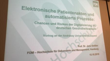 Digitalisierung im deutschen Gesundheitswesen