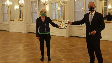 Feierliche Übergabe der Materialhilfe der Konrad-Adenauer-Stiftung