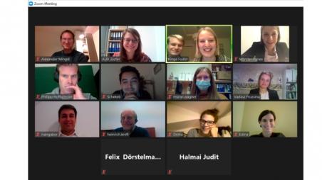Das erste virtuelle Alumnitreffen in der Geschichte der AUB