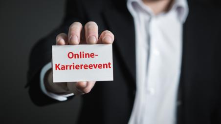 Online-Karriereevent