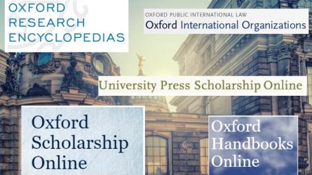Zugang zu Oxford University Press Online