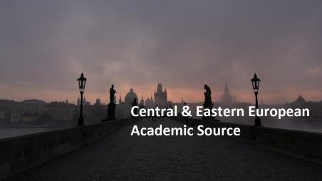Testzugang zu Central & Eastern European Academic Source