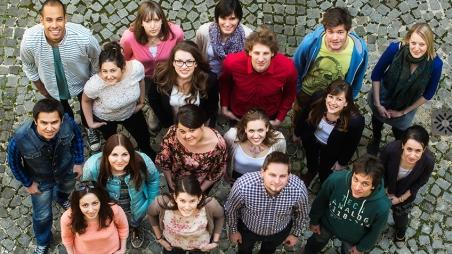 Der perfekte Start in die Prüfungszeit: Hof-Party 2015